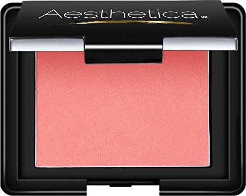 Compact Mineral Blush Duo - Aesthetica Blush Compact - Translucent Pressed Powder Blush, 0.16 oz (Climax)
