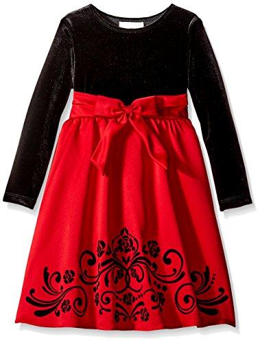 6x Girls Velvet Dress - 7