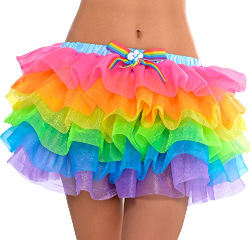 Suit Yourself My Little Pony Rainbow Dash Tutu for Adults, One Size up to Women's Size Medium, with a Cutie Mark]()