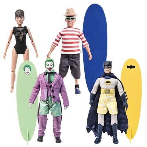 Batman Classic 1966 TV Surfing 8-Inch Action Figure Set