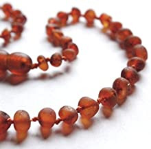Love Amber X Adult Cocoa Raw Cognac Baltic Amber Anklet
