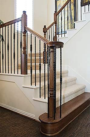 7014 Red Oak Up Easing 90 Degree 6010 Wood Staircase Handrail Fitting for Stair Remodel