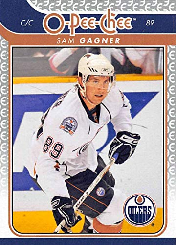 - 2009-10 O-Pee-Chee Hockey #65 Sam Gagner Edmonton Oilers Official NHL Trading Card From Upper Deck