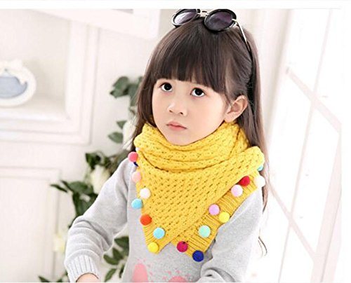 Winter Baby New Fashion Beautiful Warm Scarf [yellow] by Black Temptation (Image #1)