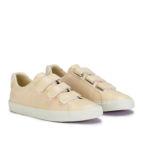 VEJA - Zapatillas de Deporte de Otra Piel Mujer, Beige (Beige), 39: Amazon.es: Zapatos y complementos