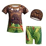 WNQY Moana Maui Boys 2-Piece Summer Swimsuit