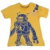 "[Baby House] ""robot"" boys short sleve T-shirt 100% Cotton size18MOS-6T"