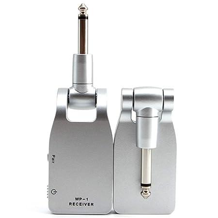 2.4G Sistema inalámbrico de Guitarra Transmisor y Receptor ...