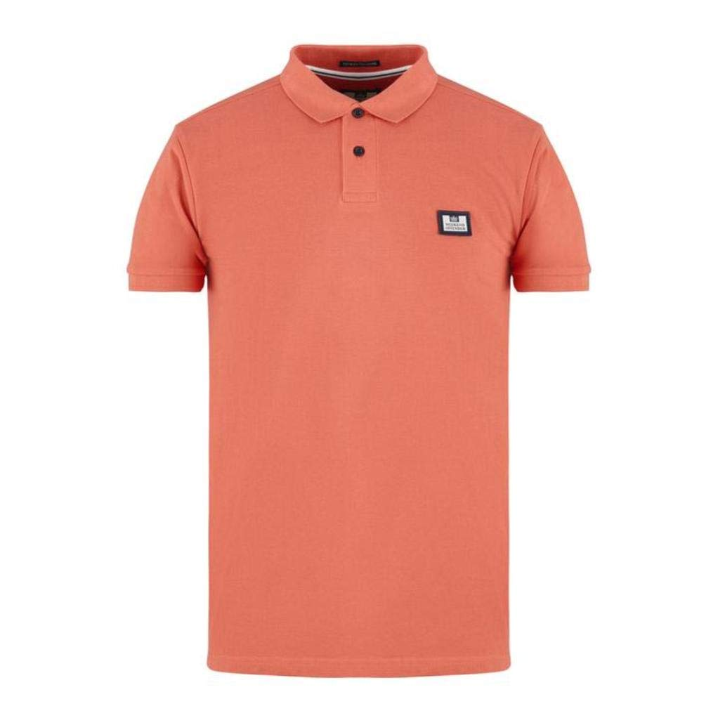 Weekend Offender - Polo - para Hombre Rosa Cosmos M: Amazon.es ...
