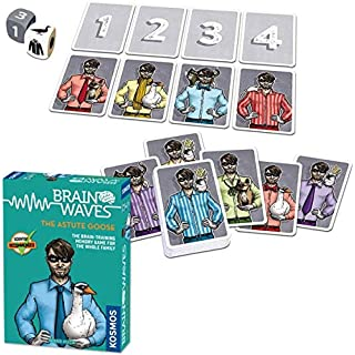 Brainwaves: The Astute Goose - A Kosmos Game from Thames & Kosmos | Fun, Scientist Approved, Family-Friendly Games to Sharpen Your Mind & Train Your Brain, for Ages 8+