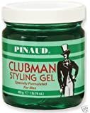 Pinaud Clubman Styling Hair Gel, Original - 16 Oz
