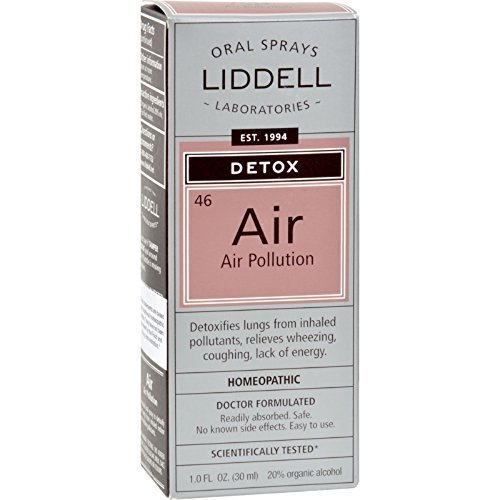 Liddell Homeopathic Detox Pollution Spray -- 1 fl oz