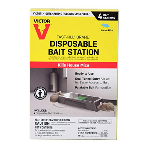 Victor Ready-to-Use Poison M915 Fast-Kill Brand Disposable