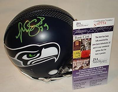 Malcolm Smith Signed / Autographed Seattle Seahawks Mini Football Helmet - JSA