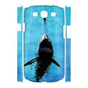 Case Of Shark Customized Hard Case For Samsung Galaxy S3 I9300
