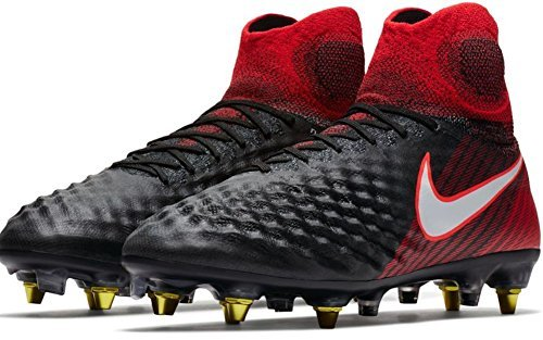cd3726476bcf Galleon - NIKE Men s Magista Obra II (SG-Pro) Soft Ground Soccer Cleat (Sz.  9) Black