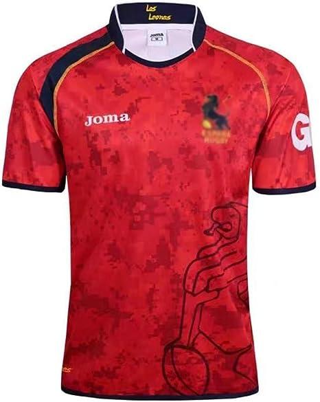 Shocly Camiseta de Rugby Jersey Fútbol Ropa 17-18 Camiseta de los ...
