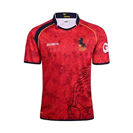 Shocly Camiseta de Rugby Jersey Fútbol Ropa 17-18 Camiseta ...