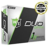 Wilson Staff Duo Soft Optix Golf Balls, Green