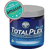 TotalPLEX MAXIMUM STRENGTH Probiotics for Dogs & Cats | PLUS ENZYMES & OMEGA's