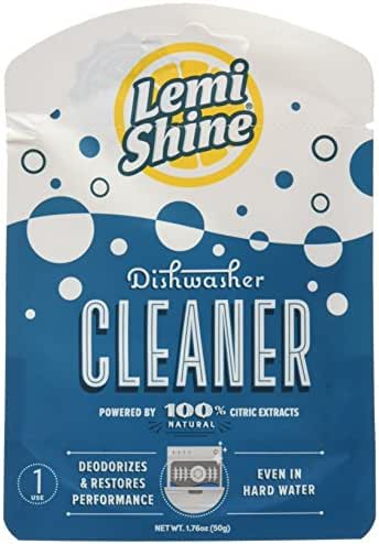 Dishwasher Cleaner: Lemi Shine