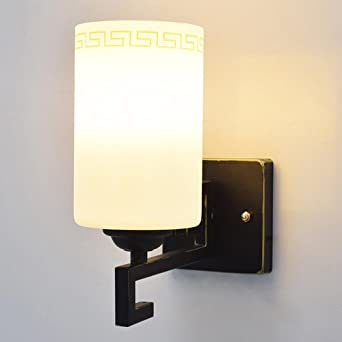 JAYLONG Nueva simple moderna del estilo chino retro pared luces LED cama Habitación Sala Balcón El