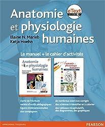 Coffret Anatomie et physiologie humaine: Le livre avec eText + le cahier d'activités