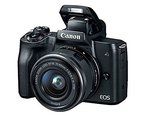 Canon EOS M50 Mirrorless Camera w/15-45mm (Black) + 2 x 32GB + Deluxe Photo Bundle by Canon (Image #4)