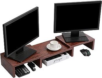 Superjare Adjustable Screen Stand Riser