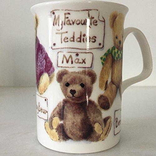 - Roy Kirkham Fine Bone China coffee Mug (My Favorite Teddies MAX)
