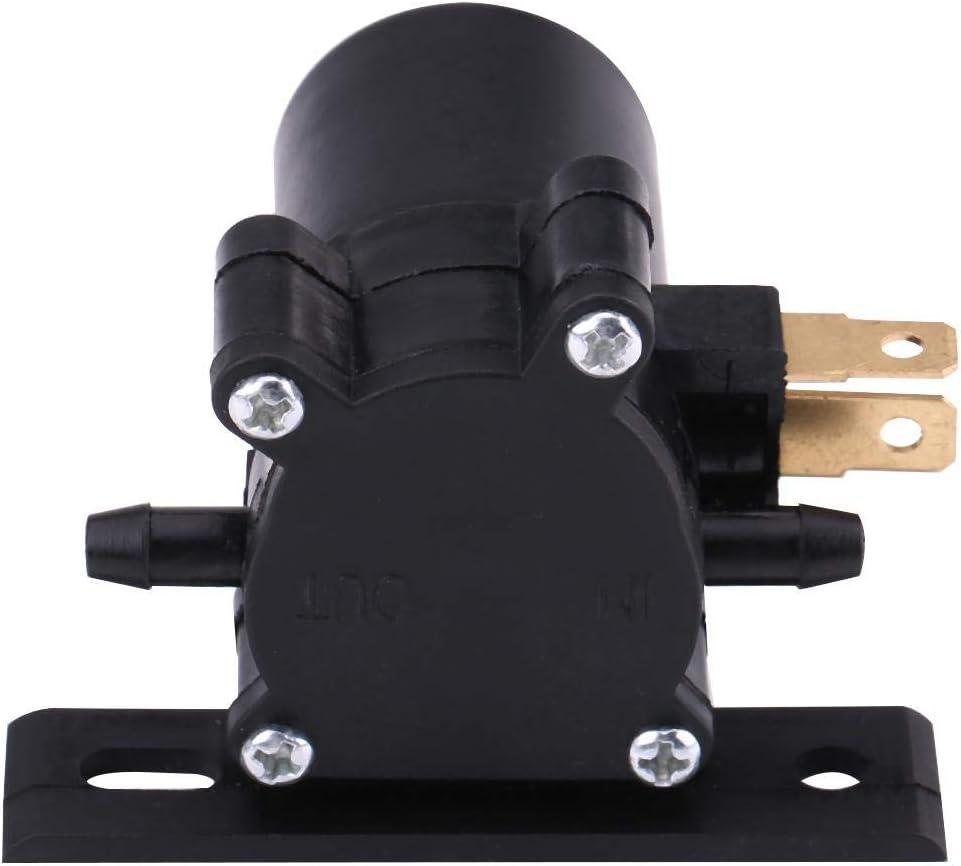 Motor Universal de la Bomba del lavaparabrisas del limpiaparabrisas de 12V para el cami/ón del autob/ús de Van del Coche Wytino Bomba de la Lavadora