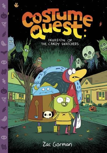 [Costume Quest: Invasion of the Candy Snatchers] (Sale Halloween Costumes)
