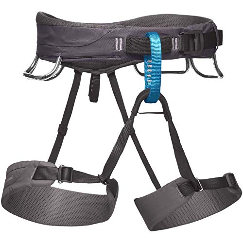 Black Diamond Momentum Climbing Harness - Men's Slate Medium