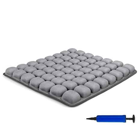 Innerneed Air Inflatable Seat Cushion Non Slip Comfortable Seating And Positioning Pad Coccyx Cushion For Tailbone Pain Office Chair Car Seat