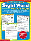 100 Write-and-Learn Sight Word Practice