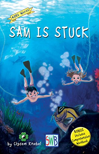 Amazon sam is stuck decodable chapter books for kids with sam is stuck decodable chapter books for kids with dyslexia by knebel cigdem fandeluxe Choice Image