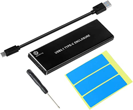 BGNing NVMe PCIE - Caja Externa para Disco Duro SSD (USB 3.1, M.2 ...