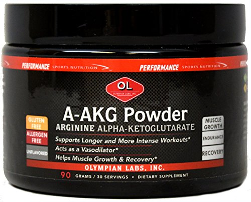 Olympian Labs A-AKG Powder 3000 mg-90 g Powder