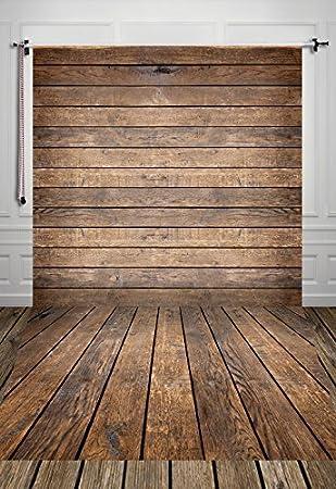 1.5*3m(150*300cm) Brown piso de madera fondos vinilo delgada de fondo la fotografía bebé recién nacido foto atrezzo para estudio D-4926
