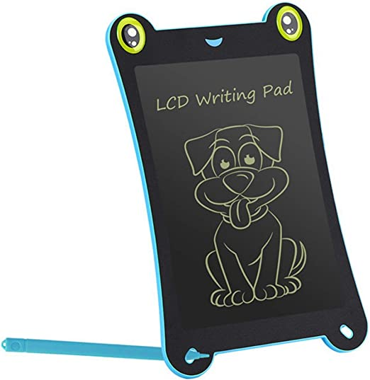 RIBITENS 8.5 inch Light Energy Childrens Writing Drawing Board Electronic LCD Painting Graffiti Writing Tablets