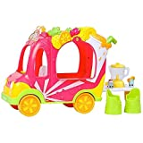 NEW Shopkins Shoppies Smoothie Juice Truck Vehicle Ride w/Figures Moose CHOP