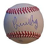 Los Angeles Angels Yunel Escobar Autographed Hand Signed Baseball with Proof Photo of Signing, Toronto Blue Jays, Atlanta Braves, Washington Nationals, Tampa Bay Rays, COA