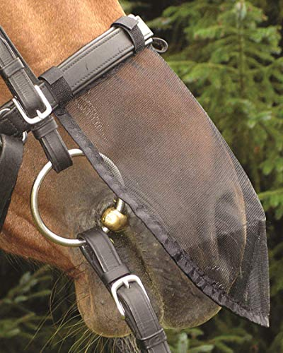 Cashel Quiet Ride Horse Nose Net Mask, Protects from Biting Insects Fly Mask