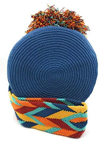 Sac dos à femmes Pena et M à fois les colombiens Sacs main hommes COLOMBIAN pour STYLE Handmade à Wayuu la les Cqwxw5t4