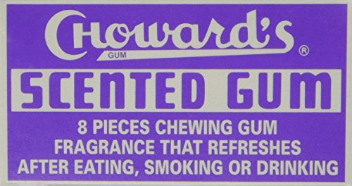 Chowards Scented Gum Pack of 24