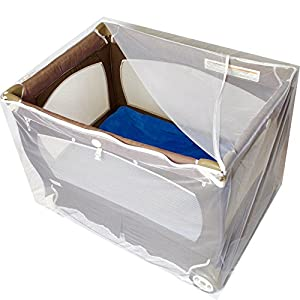 Baby Playpen Mosquito Net with Zippers, Premium Quality...