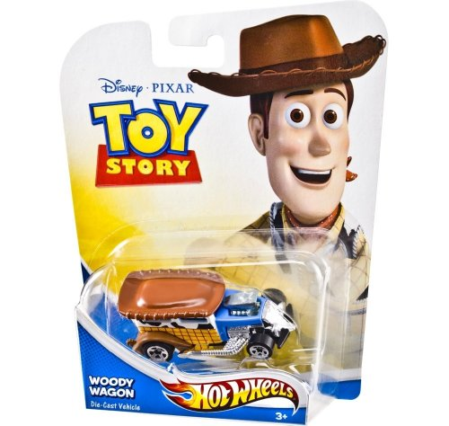 Disney Pixar Toy Story Hot Wheels Woody Wagon (Toy Wagon Wheels)