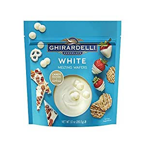 Ghirardelli Chocolate White Candy Making Wafers, 10 Ounce