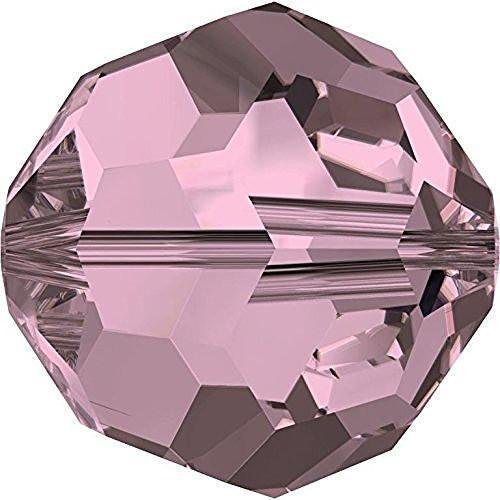 (5000 Swarovski Crystal Beads Round Crystal Antique Pink | 8mm - Pack of 10 | Small & Wholesale Packs)