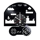 Super Mario Brothers Vinyl Record Wall Clock - Get unique home room wall decor - Gift ideas for men, women, boys and girls – Unique Game Art - Leave us a feedback and win your custom clock